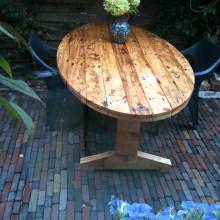 Ovale tafel.