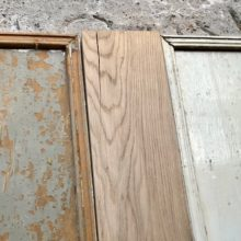 Dressoir van eiken en sloophout